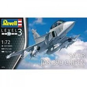 Saab JAS-39D Gripen TwinSeater 1:72 Revell Model Kit