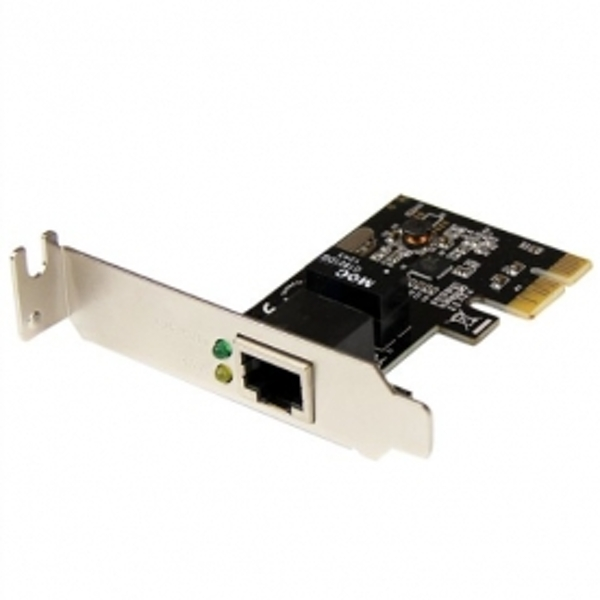 Image of StarTech 1 Port PCI Express PCIe Gigabit NIC Server Adapter Network Card - Low Profile
