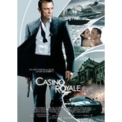 James Bond - Casino Royale Postcard
