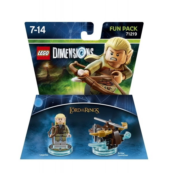 Legolas (Lord of the Rings) Lego Dimensions Fun Pack - Image 1