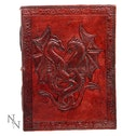Double Dragon Leather Embossed Journal