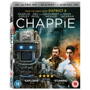 Chappie 4K UHD + Blu-ray + Digital HD
