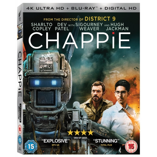 Chappie [4K Ultra HD] [Blu-ray]