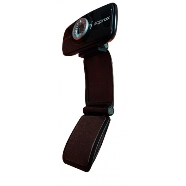 Approx HD 720DPI Webcam with Image Capture Button and Built-In Microphone Black