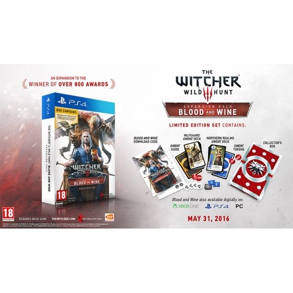 The Witcher 3 Wild Hunt Blood And Wine Limited Edition