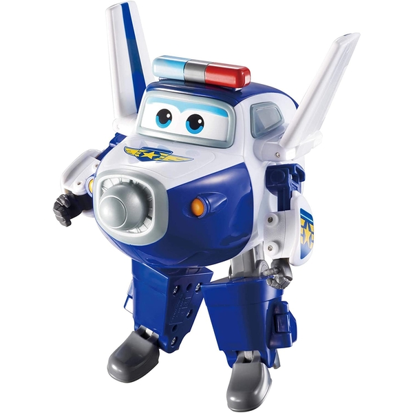 Super Wings Transforming Paul 5 Inch Figure