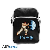Street Fighter - Hadoken- Vinyl Small -Hook Messenger Bag