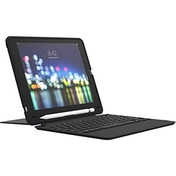 """ZAGG Slim Book Go - Bluetooth Keyboard and Case - Made for Apple iPad 10.2"""" - Black (UK)"""