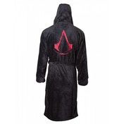 Assassins Creed Red Crest Logo Unisex L/XL/XX-Large Bath Robe with Hood