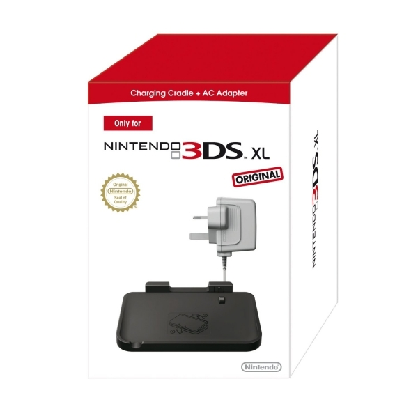 Nintendo 3DS XL Charging Cradle And AC Adapter