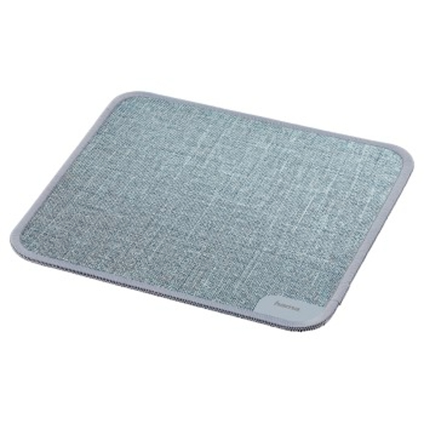Hama | Modern Textile Design Mouse Pad | Grey