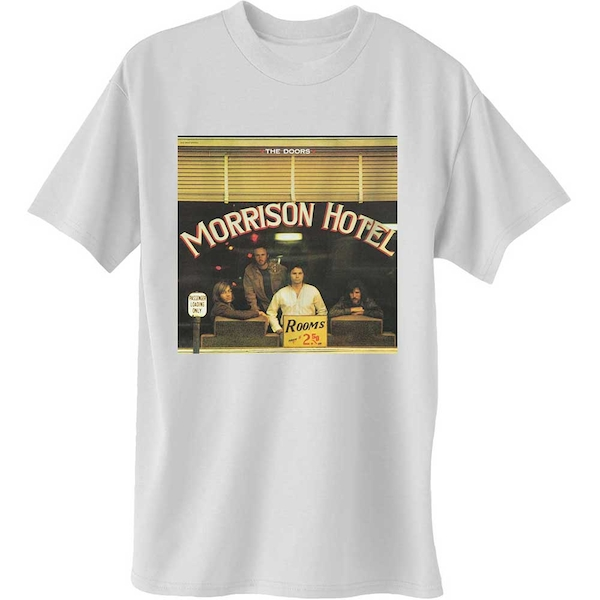 The Doors - Morrison Hotel Unisex XX-Large T-Shirt - White
