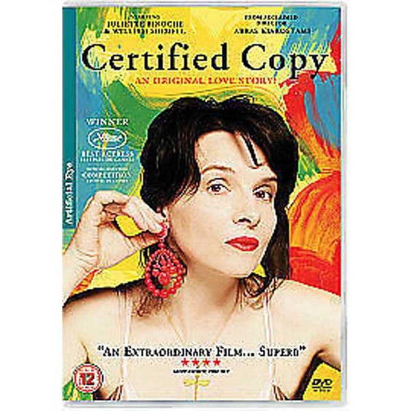 Certified Copy DVD