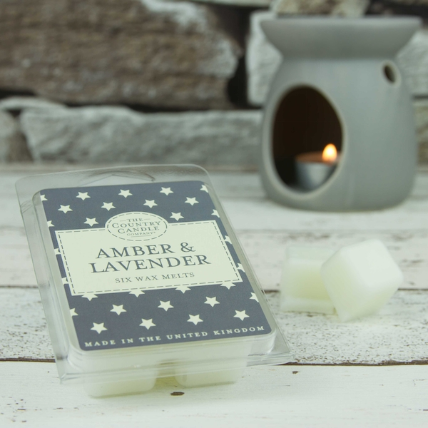 Amber & Lavender (Superstars Collection) Country Candle Wax Melt