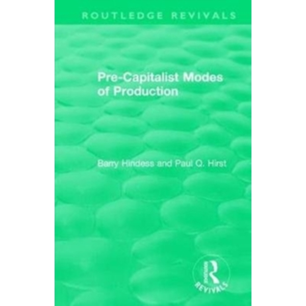 : Pre-Capitalist Modes of Production (1975)