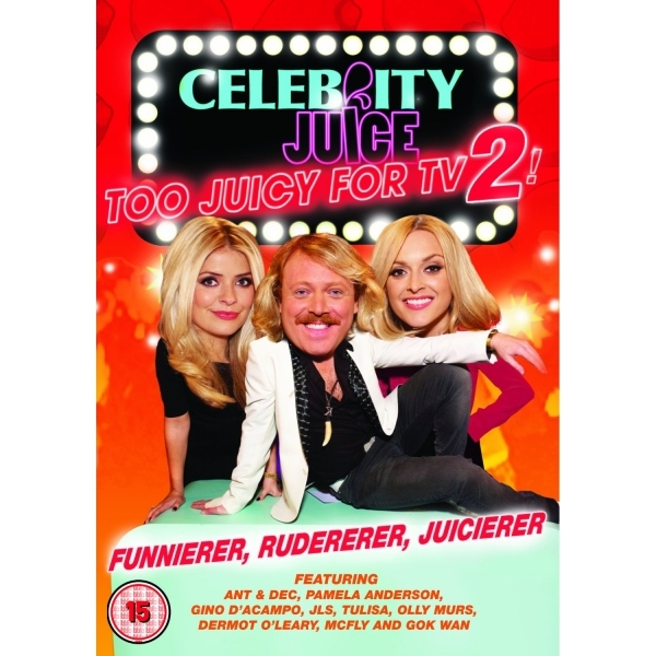 Celebrity Juice Too Juicy For TV 2! DVD