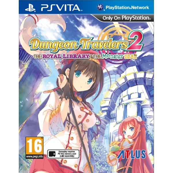Dungeon Travelers 2 The Royal Library And The Monster Seal PS Vita Game