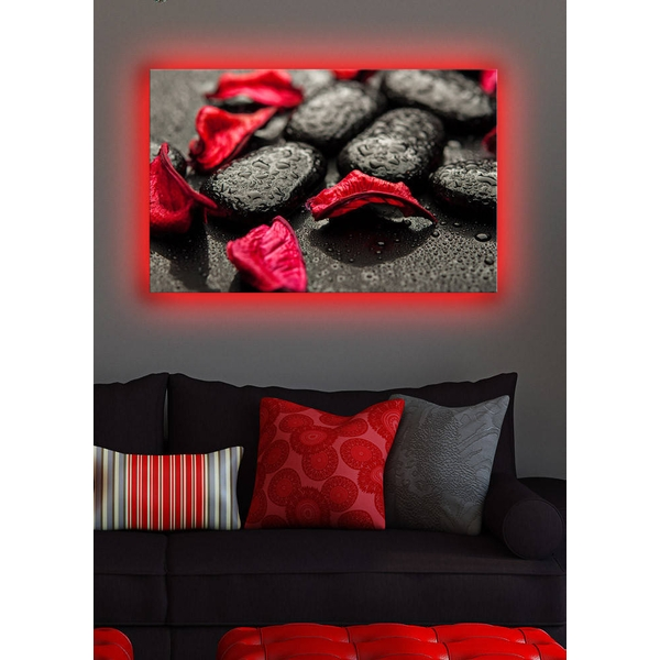 4570DACT-3 Multicolor Decorative Led Lighted Canvas Painting