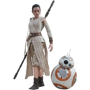Rey & BB-8 (Star Wars Episode VII The Force Awakens) Hot Toys Statue