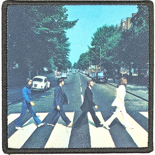 The Beatles - Abbey Road Album Cover Standard Patch