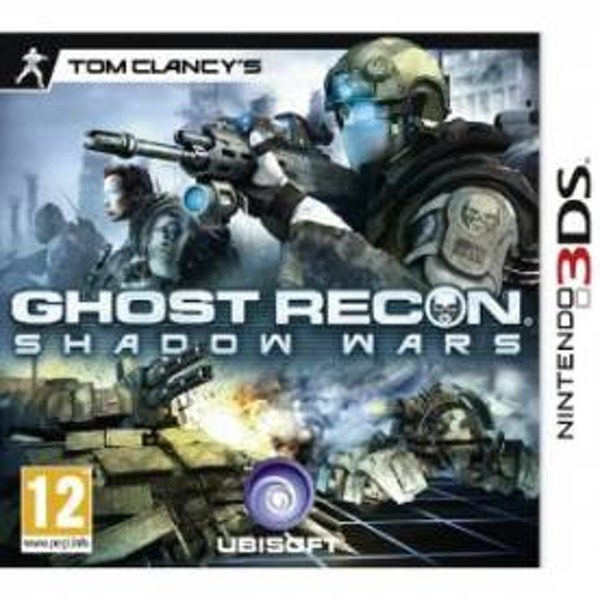 Tom Clancys Ghost Recon Shadow Wars Game 3DS