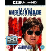 American Made 4K UHD   Blu-ray   Digital Download