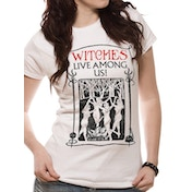 Fantastic Beasts - Witches Women's Small T-Shirt - White