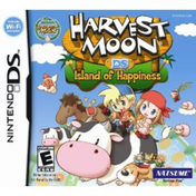Harvest Moon Island Of Happiness Game DS (#)