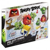 Pig City Strike Angry Birds Attack on Pig Island Playset