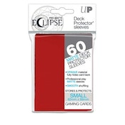 Ultra Pro PRO-Matte Eclipse Apple Red Small 60 Sleeves - 12 Packs