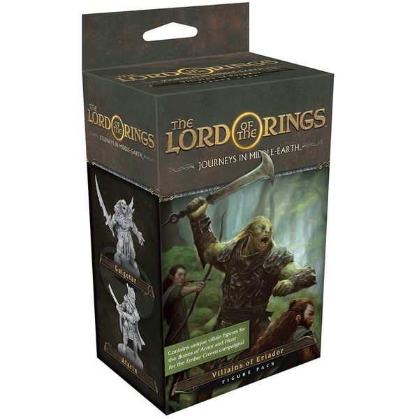 The Lord of the Rings: Journeys in Middle-Earth Board Game Expansion - Villains of Eriador