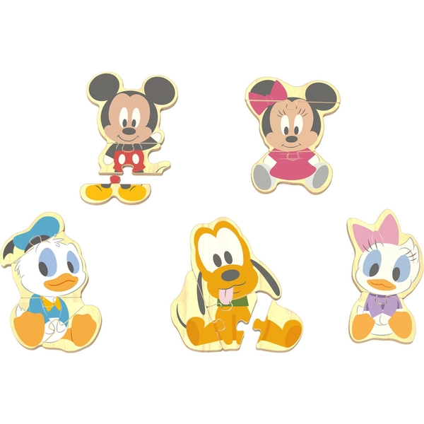 Disney Mickey Mouse Character Wooden Puzzle