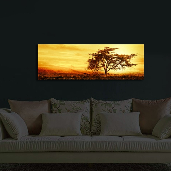 3090?ACT-27 Multicolor Decorative Led Lighted Canvas Painting