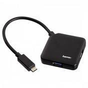 USB 3.1 Type-C Hub 1:4 Bus powered (Black)