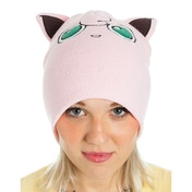 Pokemon Unisex Jigglypuff with Ears Cuffless Beanie