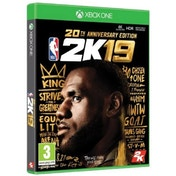NBA 2K19 20th Anniversary Edition Xbox One Game