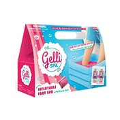Gelli Spa Pack -  Glittery Pink - Inflatable Foot Spa - Damaged