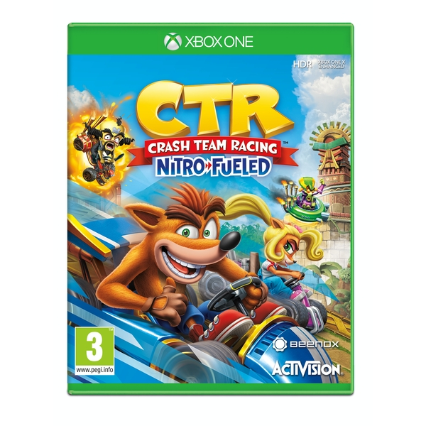 Crash Team Racing Nitro Fueled Xbox One Game