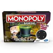 Monopoly Voice Banking Board Game