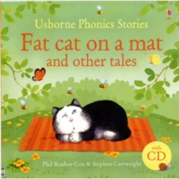 Phonics Stories : Fat Cat on a Mat and Other Tales with CD