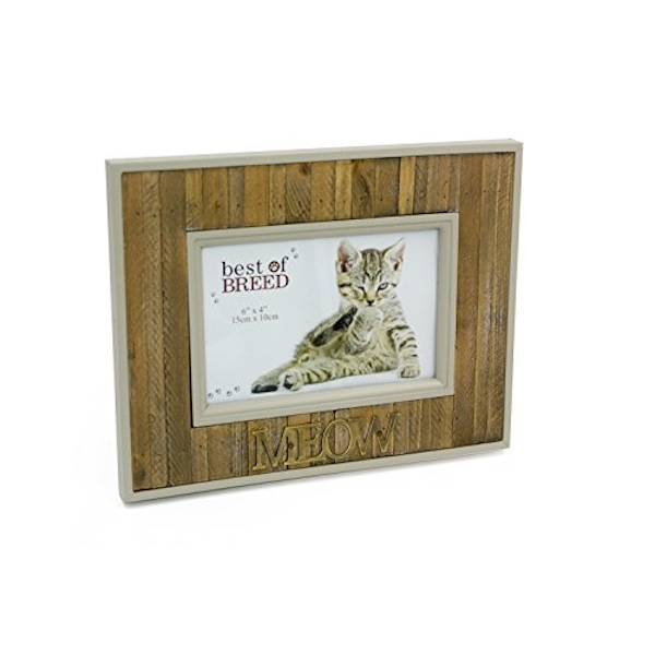 """6"""" x 4"""" - Best of Breed Panel Photo Frame - Meow"""