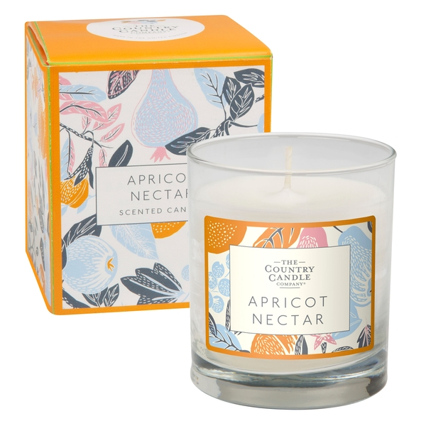 Apricot Nectar (Fragrant Orchard Collection) Glass Candle