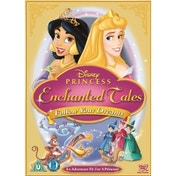 Disney Princess Enchanted Tales Follow Your Dreams DVD