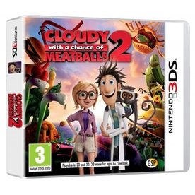 Cloudy with a Chance of Meatballs 2 Game 3DS