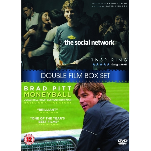 Moneyball / The Social Network DVD