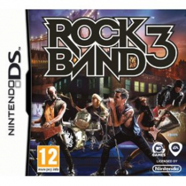 Rock Band 3 Game DS