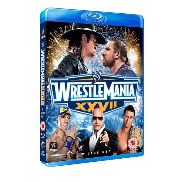 WWE - Wrestlemania 27 Blu-ray 2-Disc Set