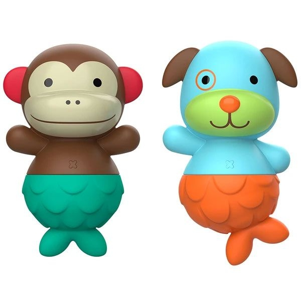 Skip-Hop Mix & Match Monkey & Dog Bath Toys