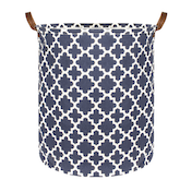 Laundry Basket with Drawstring Cover Large | M&W