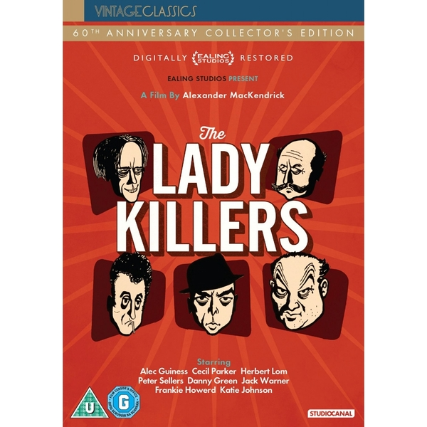 The Ladykillers 60th Anniversary Edition DVD